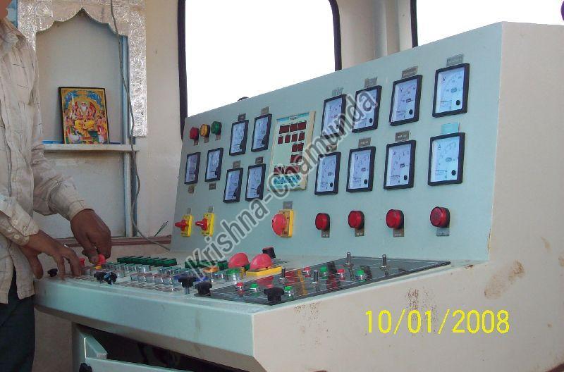 Wet Mix Plant Control Panel