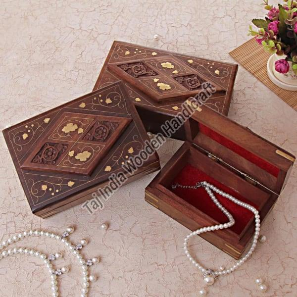 Sheesham Wood Card Box