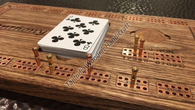 Wooden Cribbage Games