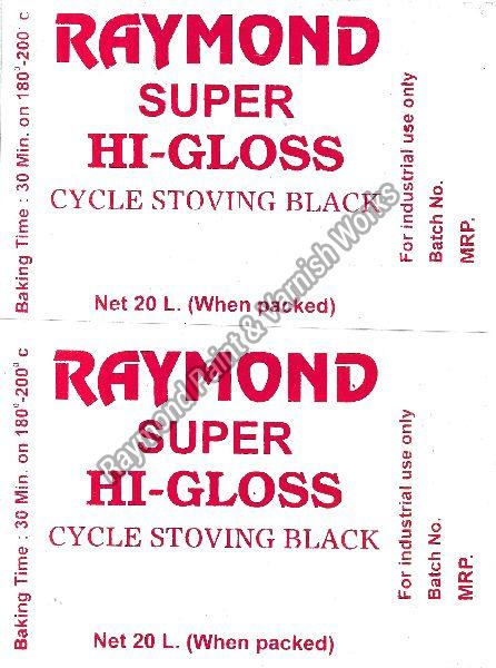 Stoving Cycle Black Paints