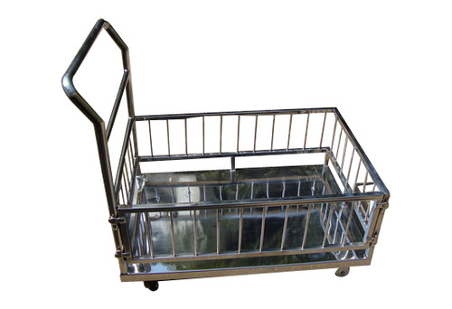 Stainless Steel Guarded Trolley