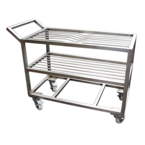 Stainless Steel Sieve Trolley