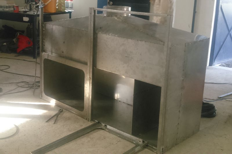Stainless Steel Duct Cover