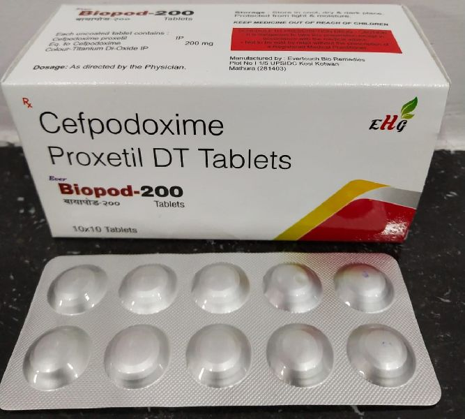 Cefpodoxime Proxetil DT Tablets