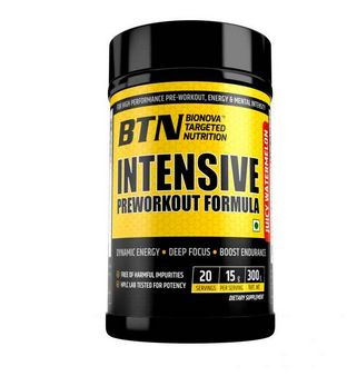 BTN Intensive Preworkout Powder