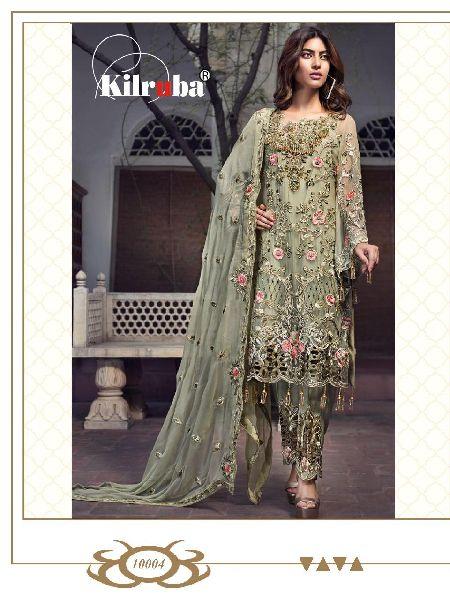 Kilruba Jannat Attraction Pakistani Style Embroidered Suits
