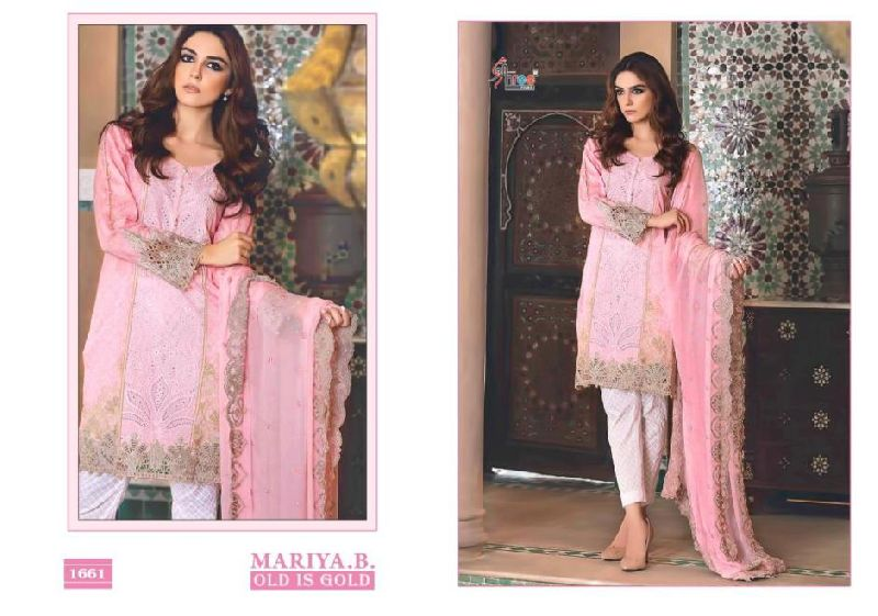 Shree Fab Maria Old Is Gold Pakistani Style Embroidered Suits