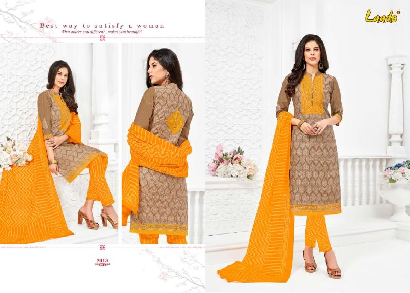 Laado Cotton Printed Dress Materials