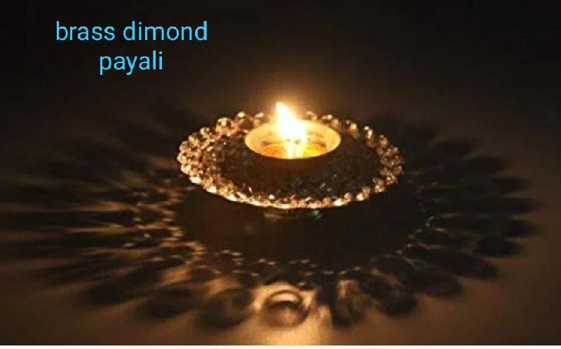 Brass Payali Diamond Diya