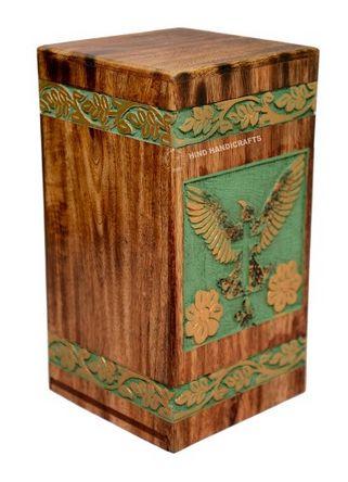 HHC128 Wooden Ash Urn