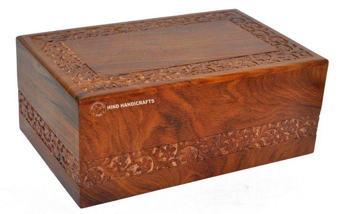 HHC130 Wooden Ash Urn