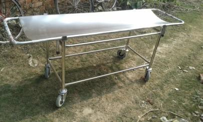 Stainless Steel Stretcher Trolley