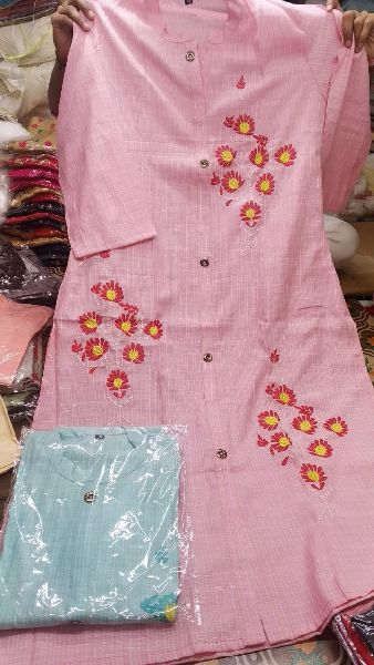 Casual Wear Cotton Kurtis