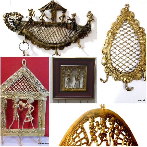 Brass Dhokra Key Holders