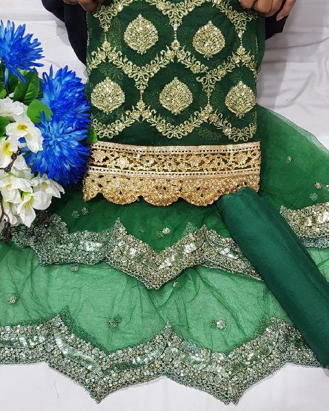 Net Lucknowi Suits