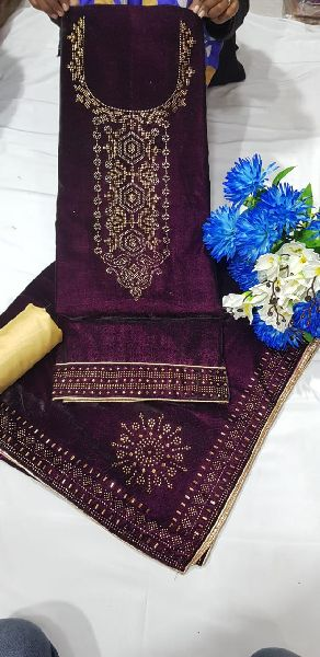 Velvet Dress Material