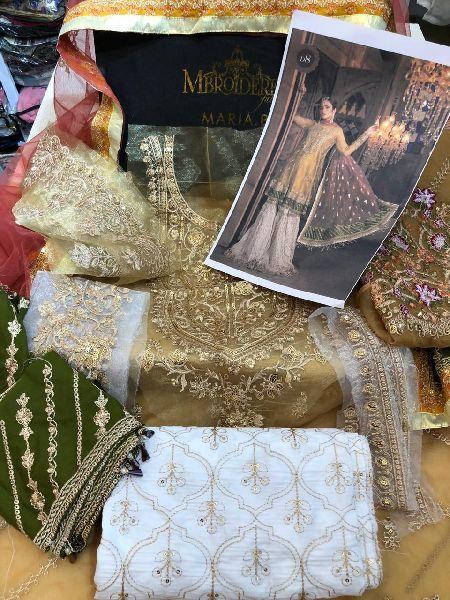 Wedding Wear Dress Material