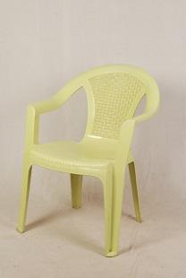 Cream Color Plastic Chair
