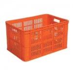 Orange Plastic Crate