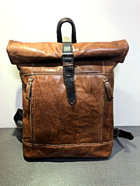 VT Leather Rucksack