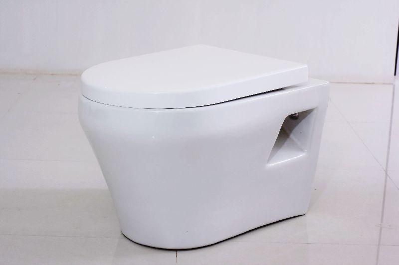 Hot Selling Elongated Wall Mounted Hang WC Washdown Toilet Ceramic in Cheap Price