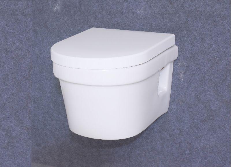 High Quality Bathroom Sanitary ware Washdown Ceramic Wall Hung Toilet
