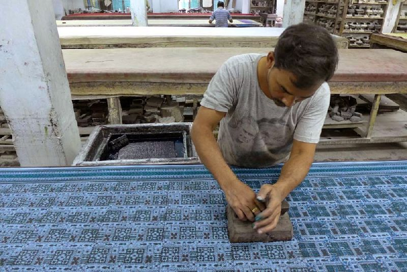 Hand Block Printing Services