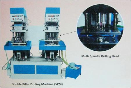 Double Head Drilling Machine