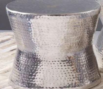 VC-1016 Hammered Aluminium Stool