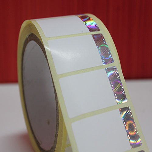holographic paper label