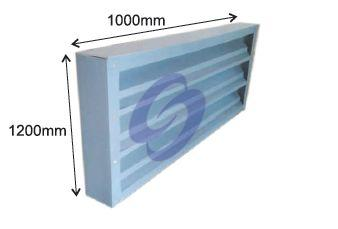 FRP Window Type Louvers