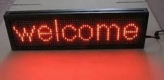 LED Running Display Board