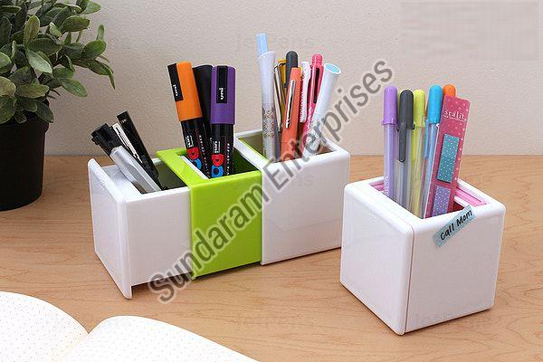 Plastic Pen Holder