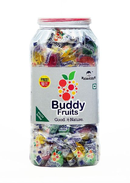 Buddy Fruit Candy Jar