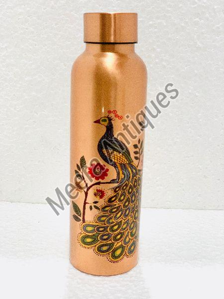 Printed Copper Bottle