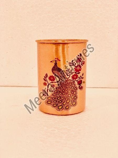 Printed Copper Glass