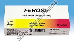 Ferose Chewable Tablets