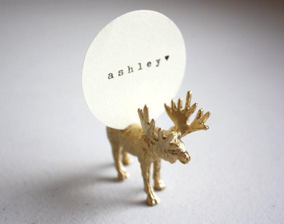 Deer Shaped Card Holder