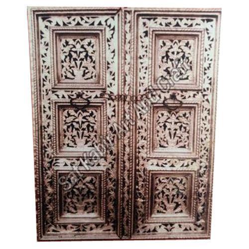 Antique Handicraft Door