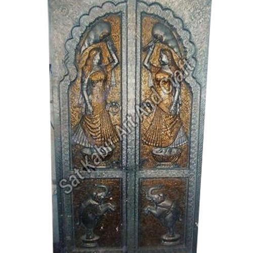 Brass Handicraft Door