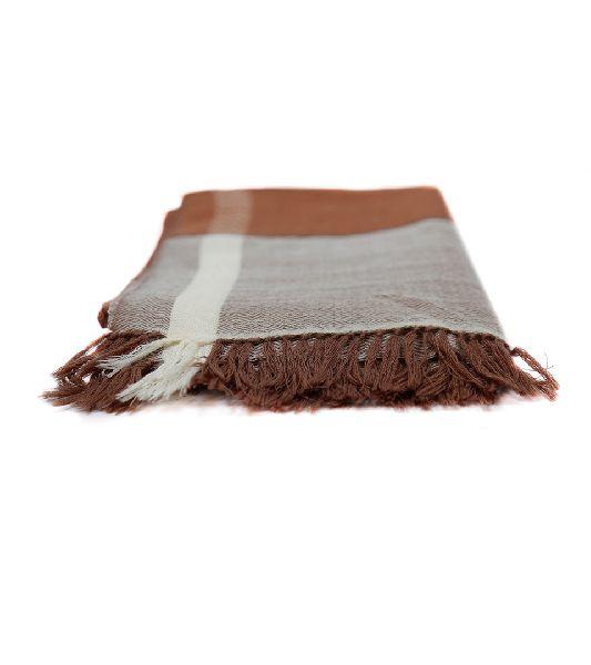 Brown Lambswool Scarves
