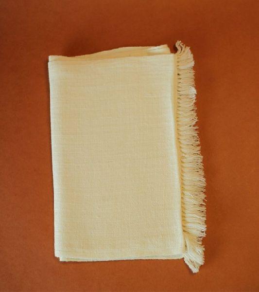 Natural Cream Merino Wool Scarves