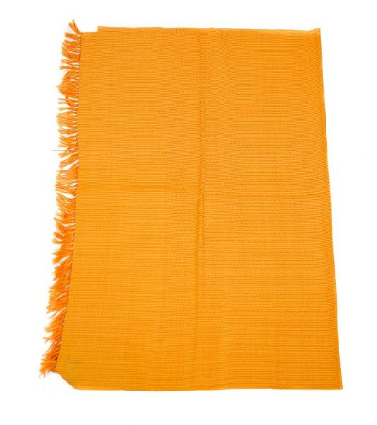 Orange & Sunflower Yellow Lambswool Stole