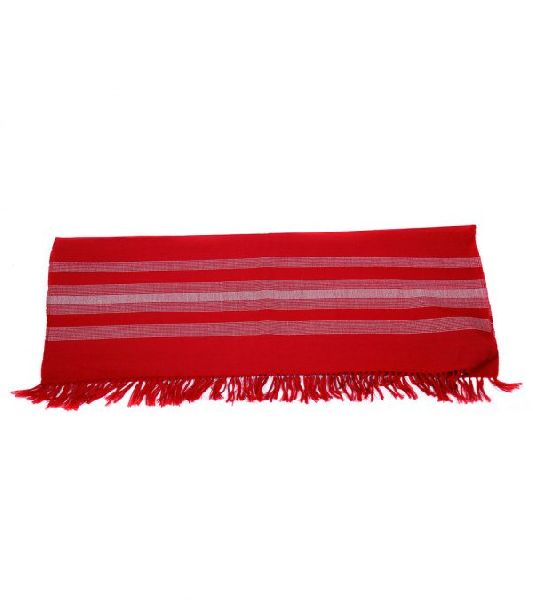 Crimson Red Lambswool Stole