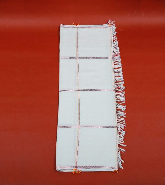 White Lambswool Stole