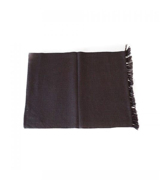 Chocolate & Charcoal Lambswool Scarves