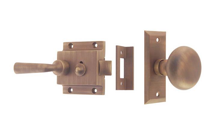 Brass Door Latch