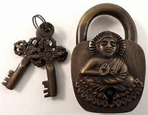 Brass Lock and Key