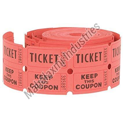 Ticket Paper Roll