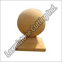 Sandstone Baluster Ball